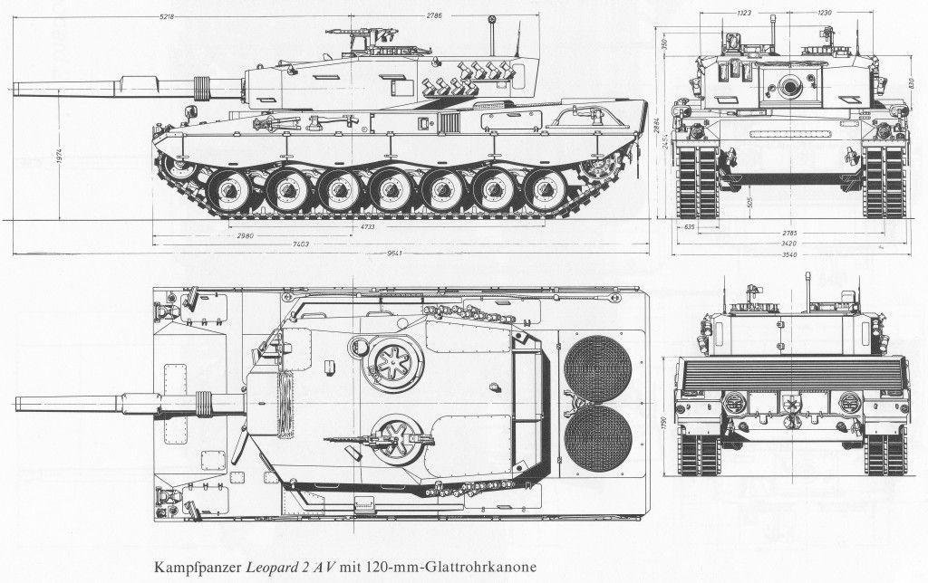 Leopard 2 blueprint vector pinterest leopard 2 blueprint malvernweather Choice Image