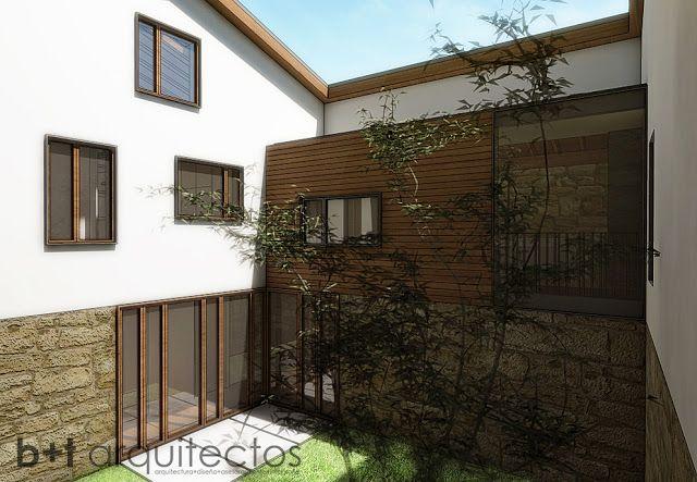 b+t arquitectos: Rehabilitación en A Barreira. Anteproyecto B