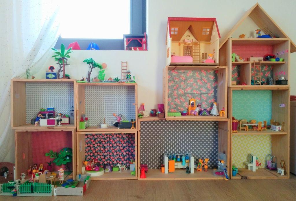 DIY une maison pour Playmobil® Maison playmobil