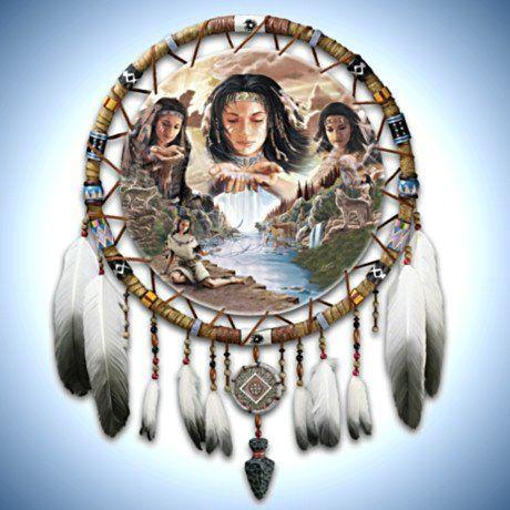 Native American-Inspired Dreamcatcher Wall Decor Art: Dreams Of ...