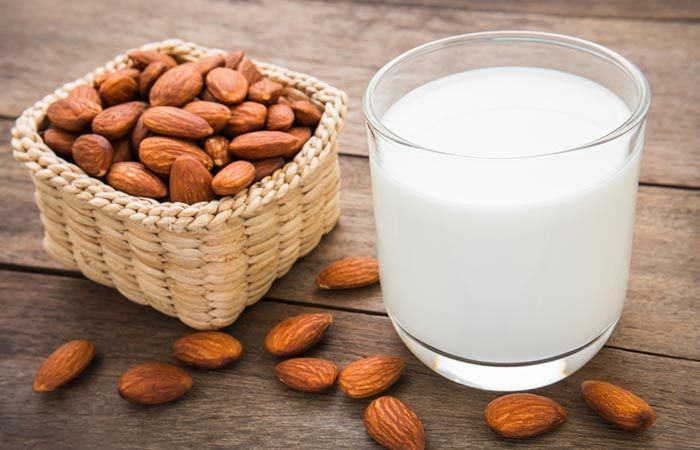 Home Remedies For Winter Skin Care Homemade Almond Milk Make Almond Milk Milk Recipes