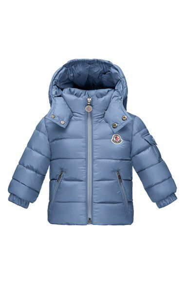 Moncler 'Jules' Hooded Down Jacket (Baby Boys)