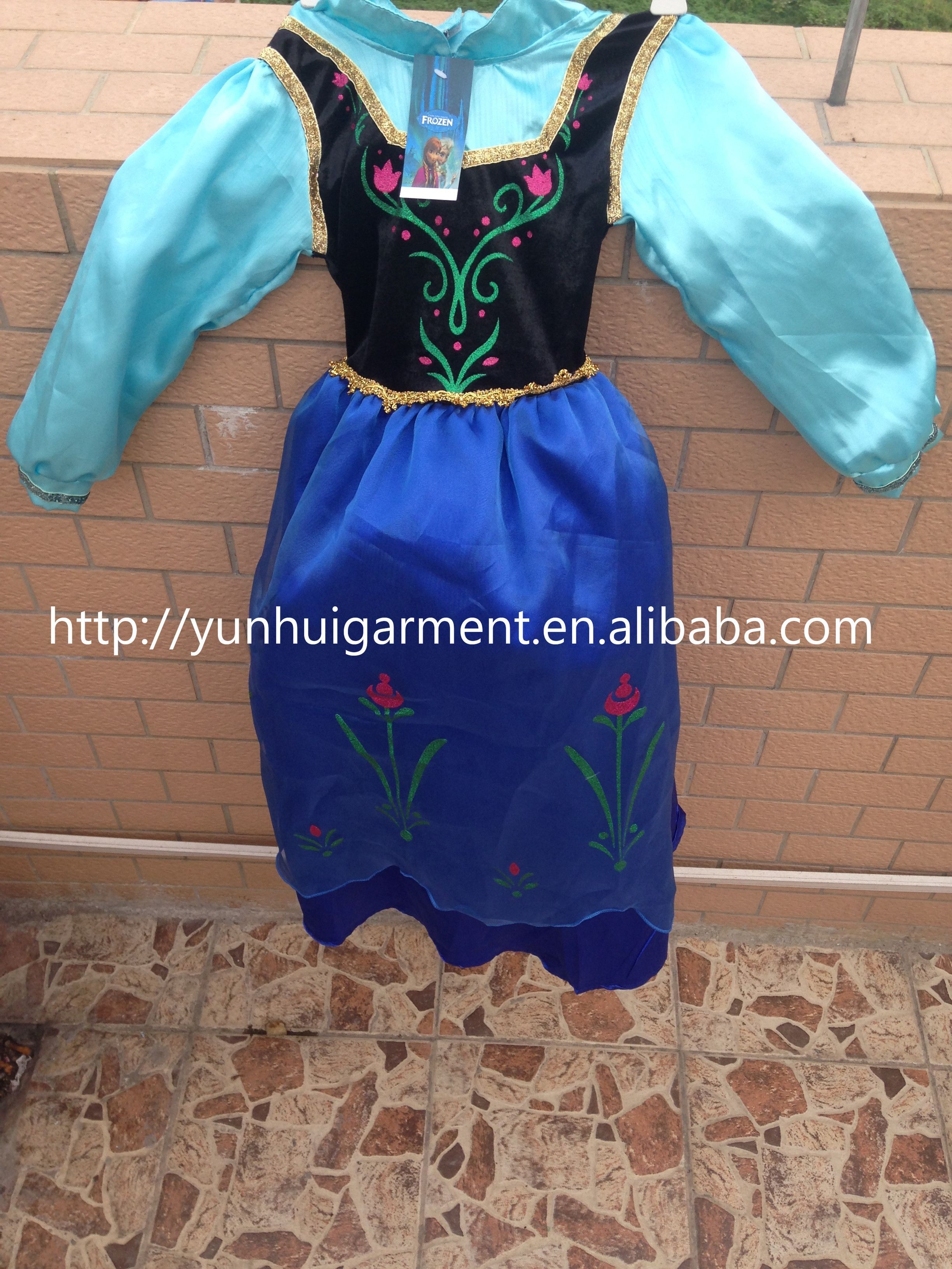 New design with petticoat and lining Elsa dress cosplay costume in ...