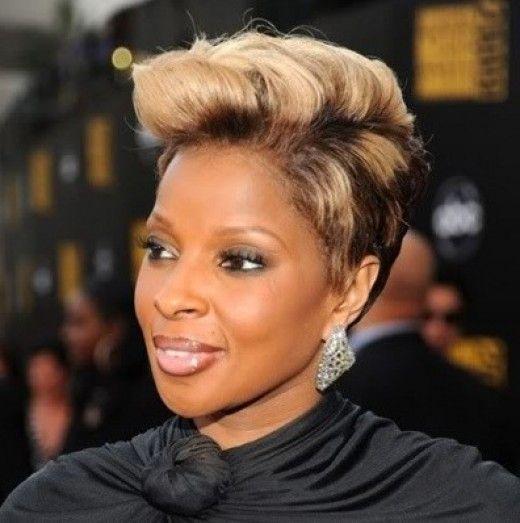 African American Blonde Highlights Blonde Highlights Highlights On African American Hair Short Relaxed Hairstyles