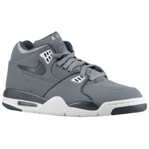 Nike Air Flight 89 - Men's - Sport Inspired - Shoes - Cool Grey/White