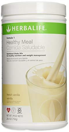 Amazon.com: Herbalife Formula 1 Shake Mix - French Vanilla ...