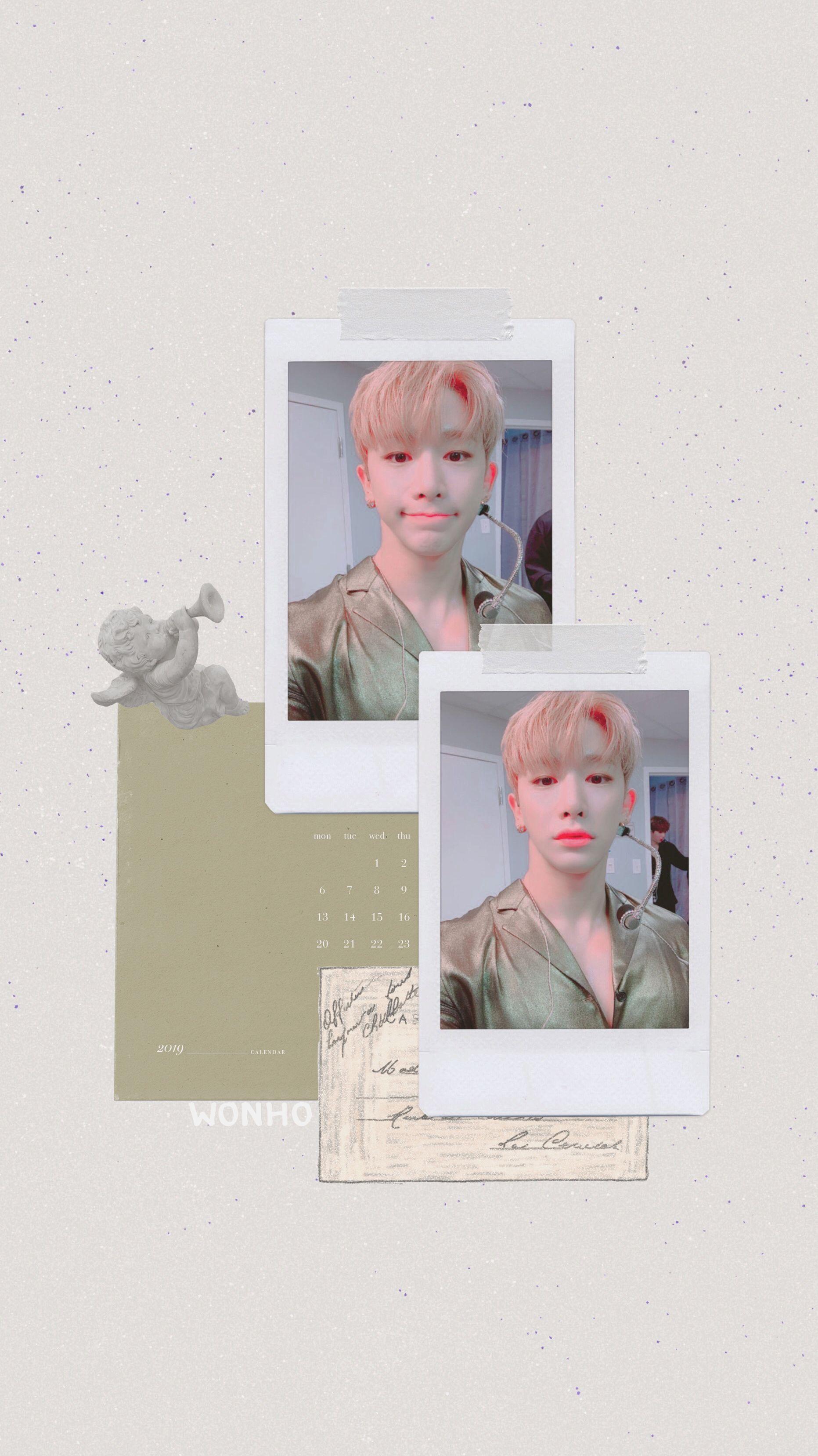 Pin By 𝙶𝙻𝙾𝚆𝚈𝙸𝚁𝙴𝙽 On Monsta X Kpop Wallpaper Aesthetic Pastel Wallpaper Monsta X Wonho