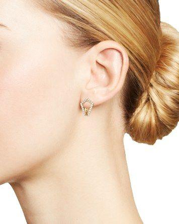 481188ce6c3656 Dana Rebecca Designs Sarah Leah Diamond Huggie Earrings | Bloomingdale's