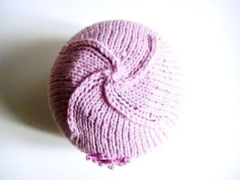 9602ca987ad8 Tutoriel bonnet tricoté bébé sans couture - YouTube   Tricot ...