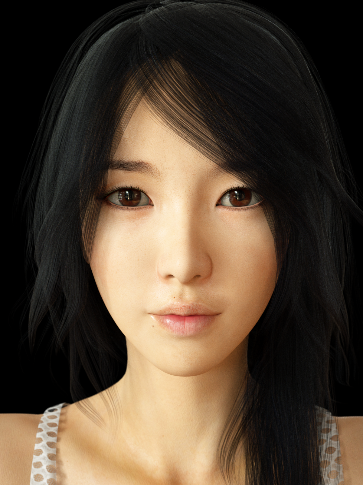 Asian free girl model picture