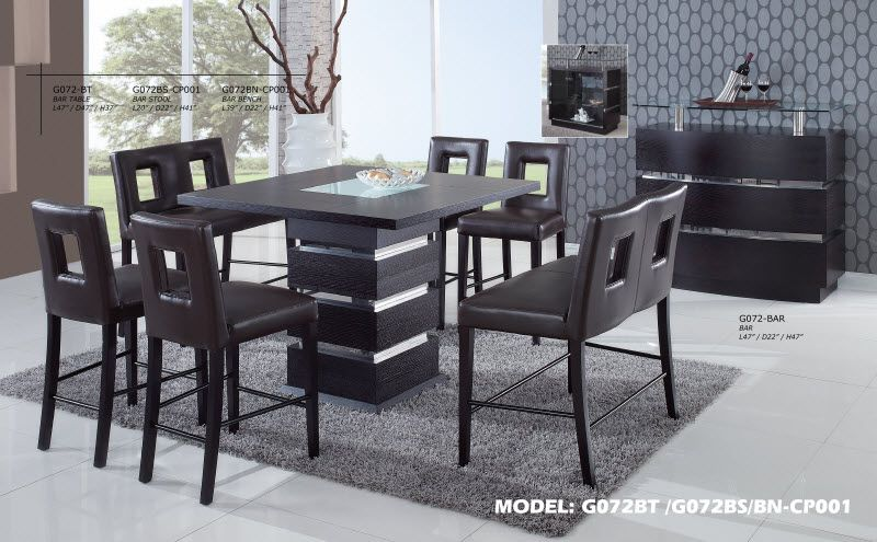 Global Furniture G072dt Dining Room Set Global Furniture Dining