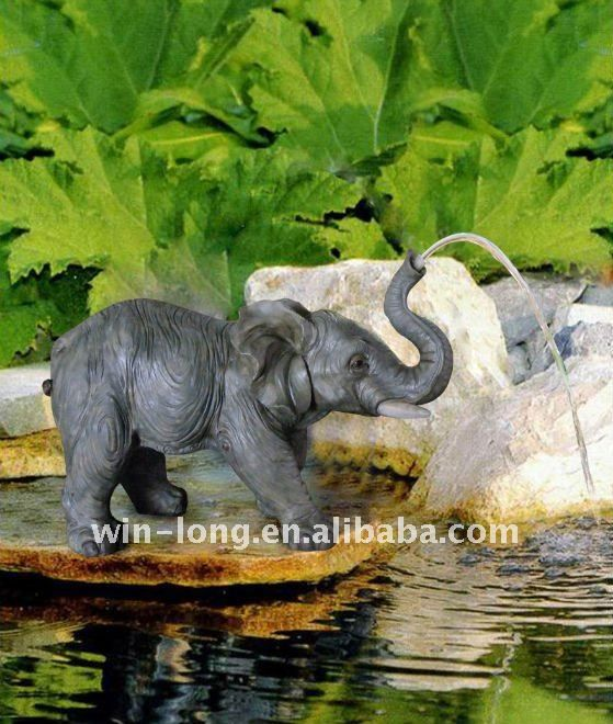 Elephant Fountain Art Ideas In 2019 Diy Garden