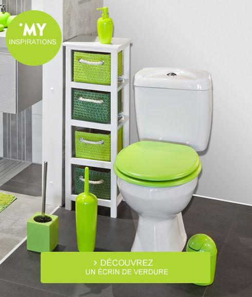 Un peu de couleur dans votre #salle #de #bains )! SALLE DE BAIN - customiser un meuble de salle de bain
