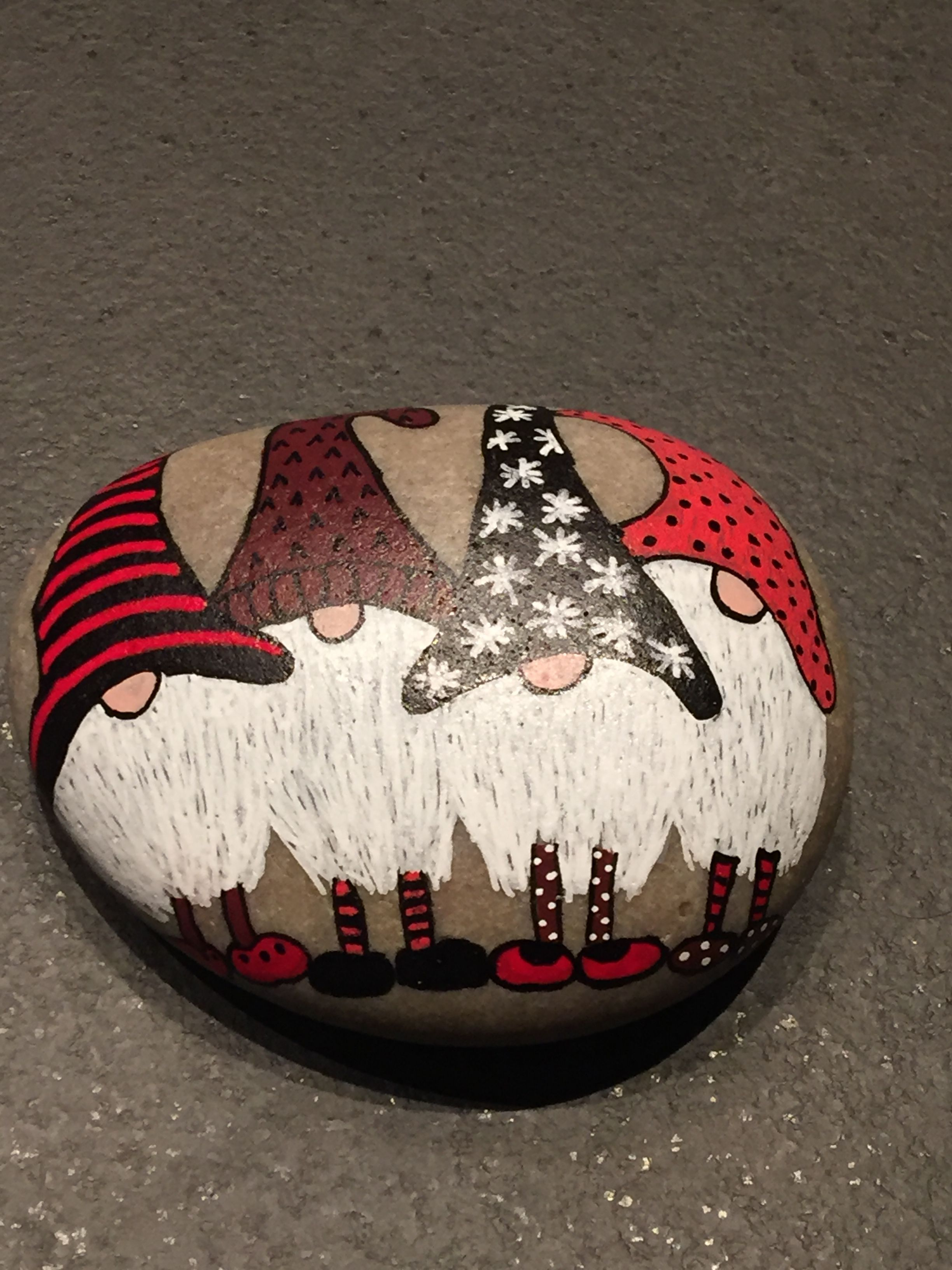 Gourd Ornament Ideals Rock Crafts Rock Painting Designs