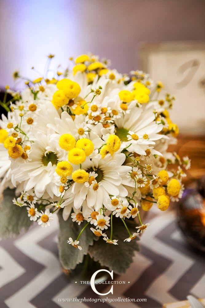 Melissa Marie Floral Design Feverfew Bouquet Wedding Flowers Wedding Boquet