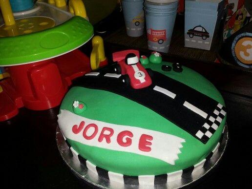 Jorge cumple 3 años