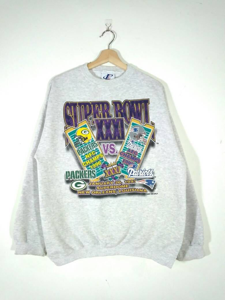 the best attitude 34c19 b4a4f Rare!! Vintage 90's Super Bowl XXXI Green Bay Packers VS New ...