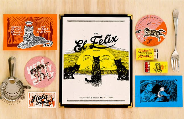 The El Felix Menu Via Art Of The Menu In 2020 With Images