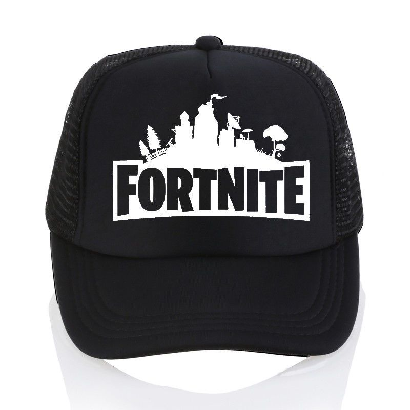 Fortnite Cap 2018 New Fashion  Fortnite Logo Print Popular Game  Fortnite  Baseball bb03db7287f