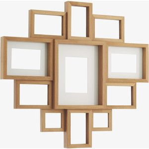 Oak Collage Frame Arron Oak Multi Aperture Wooden