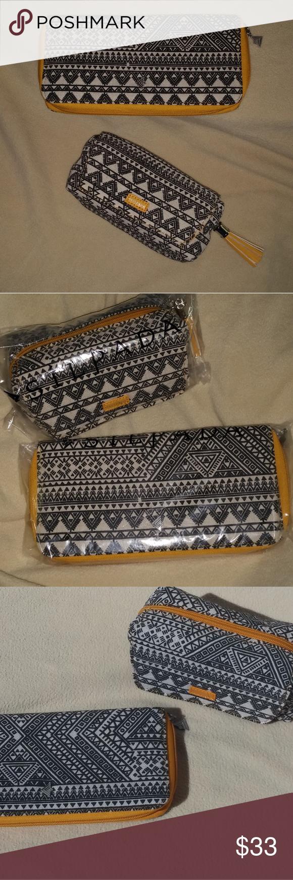 Silpada Designer Sample Mustard Aztec Case Set Silpada