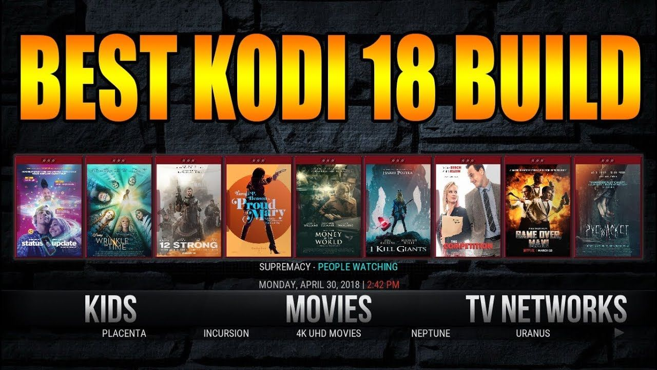 Our Picks For The Top Best Kodi Builds 2019