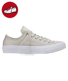 Converse Ledersneaker Chuck Taylor II CT AS II OX 555956C Creme,  Schuhgröße:37 -