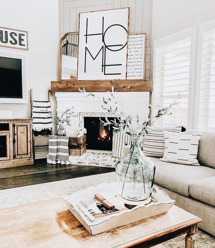 Pinterest Chandlerjocleve Instagram Chandlercleveland With Images Farmhouse Decor Living Room Farm House Living Room Home Living Room