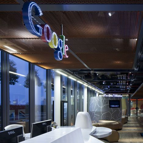google hq uk by penson office büro neat office design