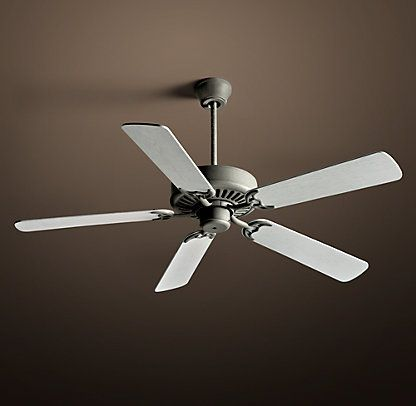 Ceiling Fans Restoration Hardware Whitewashed Oak Blades