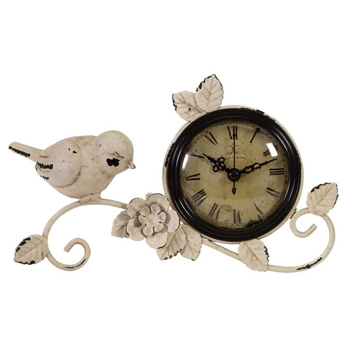 Hirondelle Table Clock - Finding Home on Joss & Main