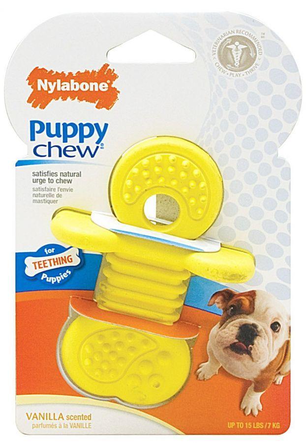 Nylabone Puppy Rhino Teether Chew Toy In 2020 Puppy Chewing