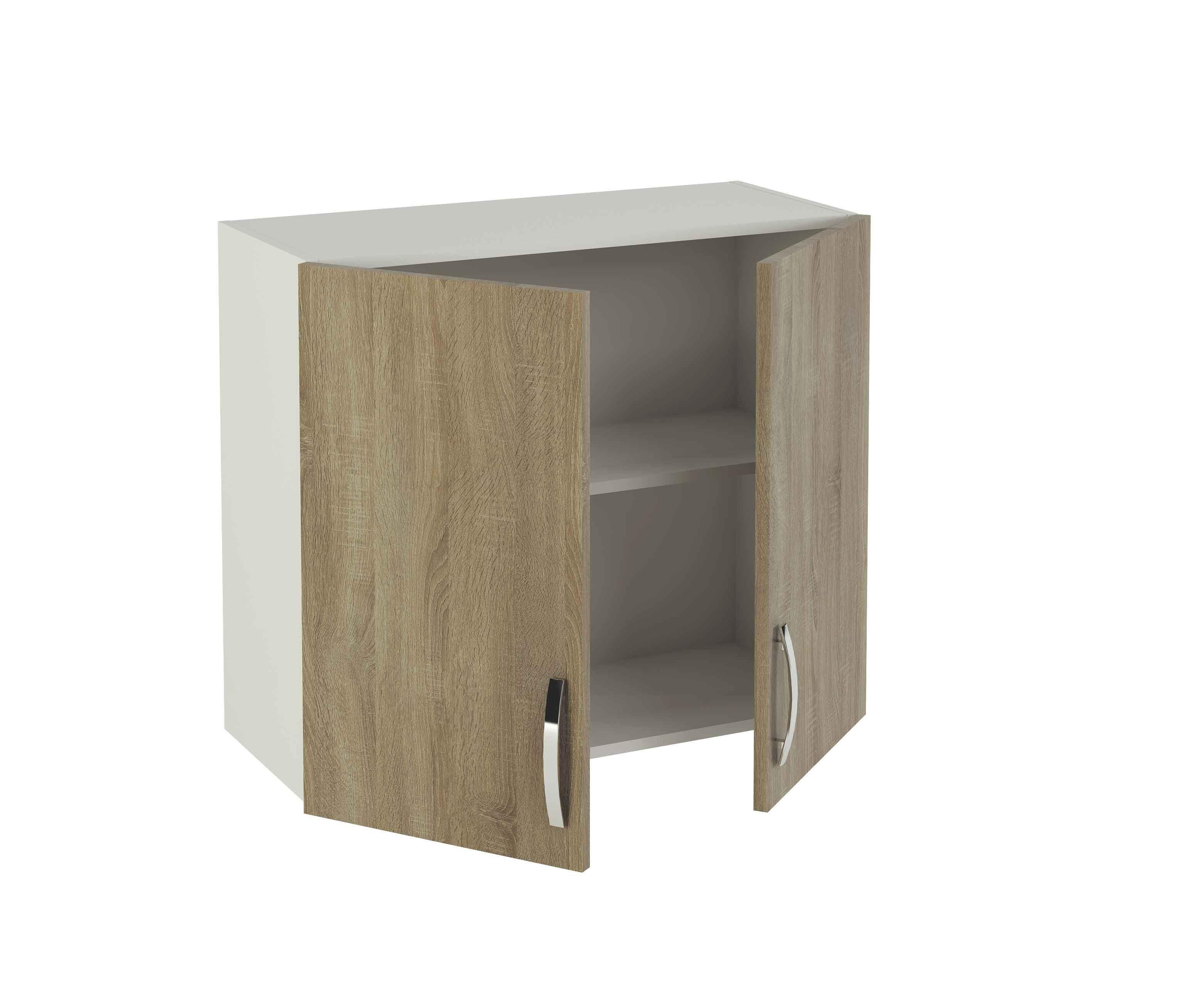Alacena en kit para tu cocina, color roble con dos puertas. #mueble ...