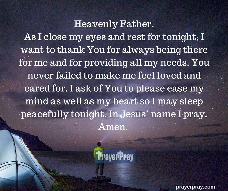 A Prayer Before Going To Sleep Yoga Slippers Prayers Night