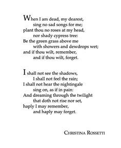 Poet: Christina Rossetti | Poetry | Poems, Poetry, Poetry ...