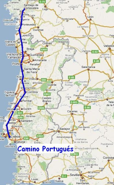 Saludo De Pontevedra O Caminho Portugues English