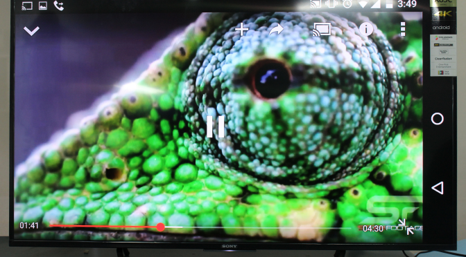 How to get setup Sony Bravia 4K Android TV Screen Mirroring