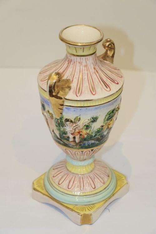 Vintage Capodimonte Vase 1947 Vintage Pinterest Vintage