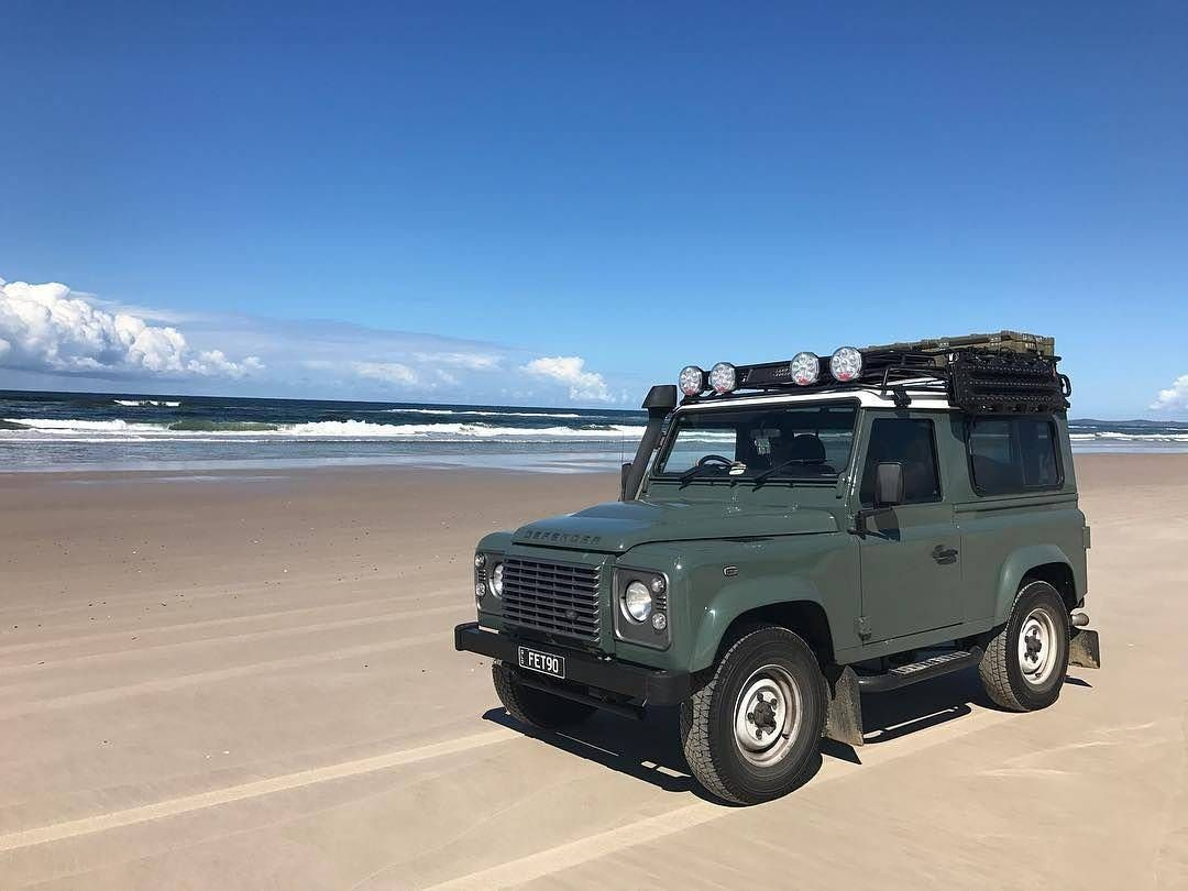 "2,057 Likes, 1 Comments - @landroverphotoalbum on Instagram: ""@defendafett on Broadwater Beach #landrover #Defender90 #landroverdefender #landroverphotoalbum…"""