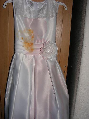 DIY Clean Wedding Dress