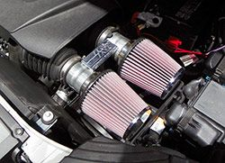 Kn Custom Air Intake System In A Twin Turbo  Ford Edge Sport