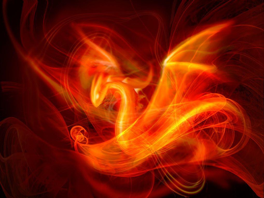 Harbingerofdeath13 - Flame Dragon   Dragons - Abstract ...Fire Flames Dragon
