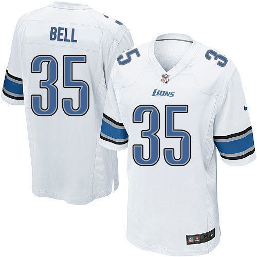 Download Youth Nike Detroit Lions #35 Joique Bell Limited White NFL ...