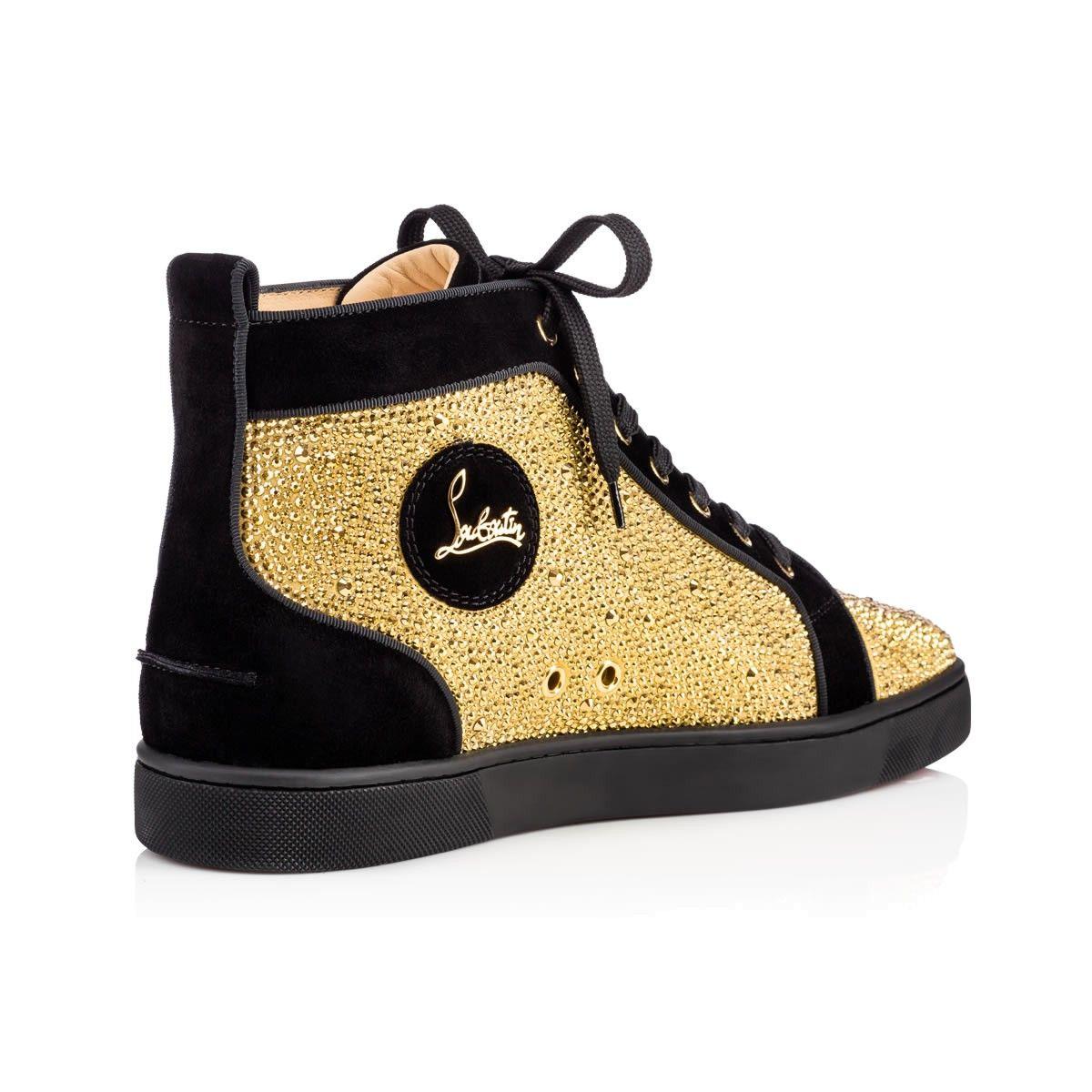 Louis Strass Men's Flat Atlantic Strass - Men Shoes - Christian Louboutin