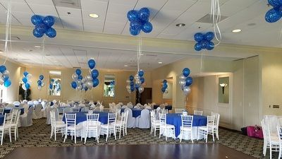 Bar Mitzvah Flower and Balloons - Special Event Decor by Monday Morning