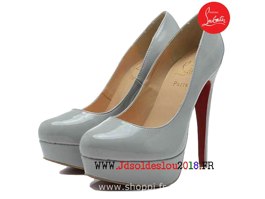 super populaire d3519 220d0 Christian Louboutin Pompes Gs 100 mm Pigalle Follies Vernis ...