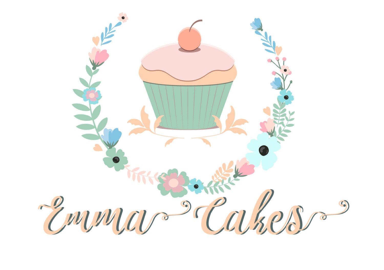 Cake Logo Custom Logo Design Bakery Logo Sweets Cupcake Logo