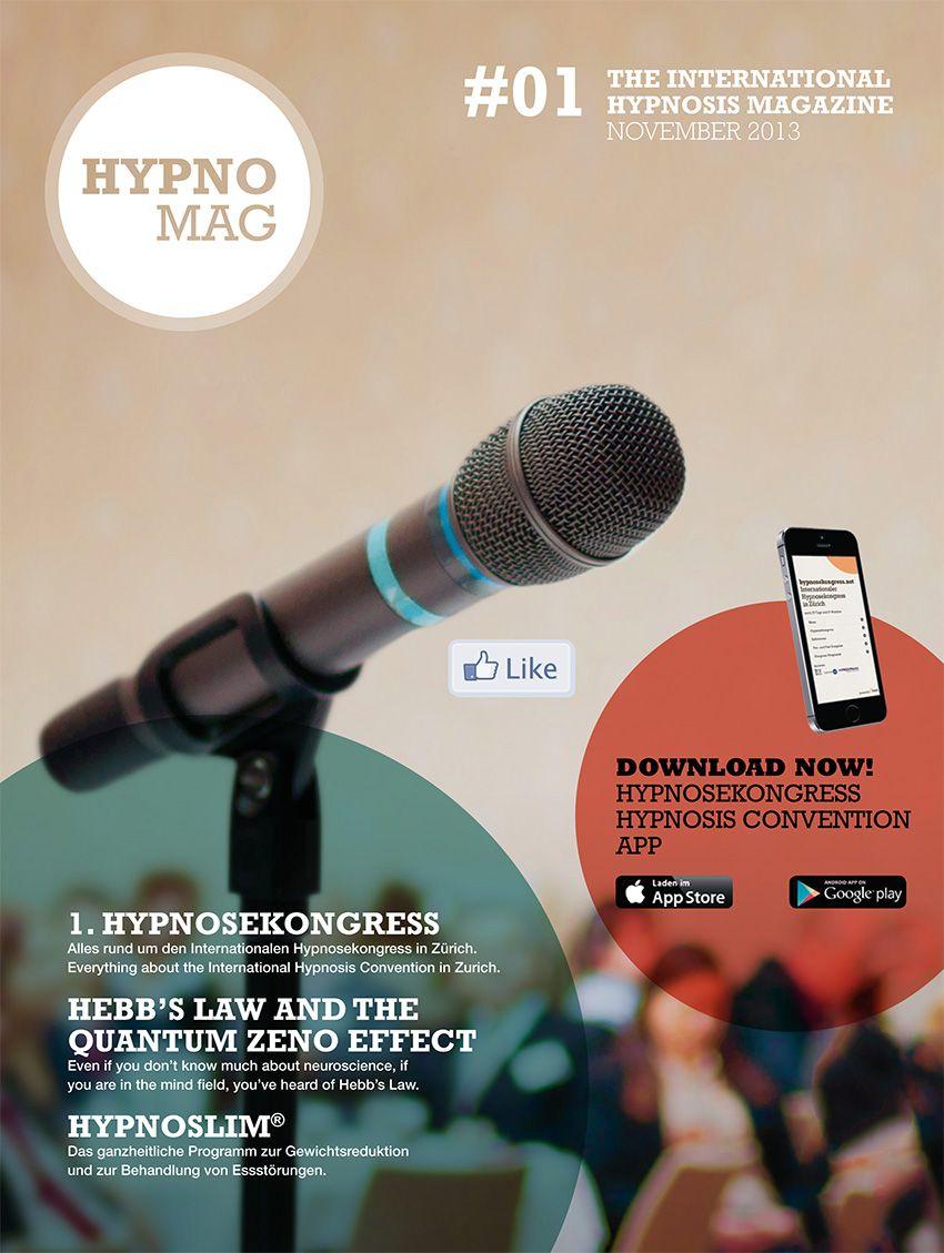 Interesse an Hypnose? Das neue Hypnose-Magazin Hypnomag enthält interessante Berichte in Deutsch und Englisch!