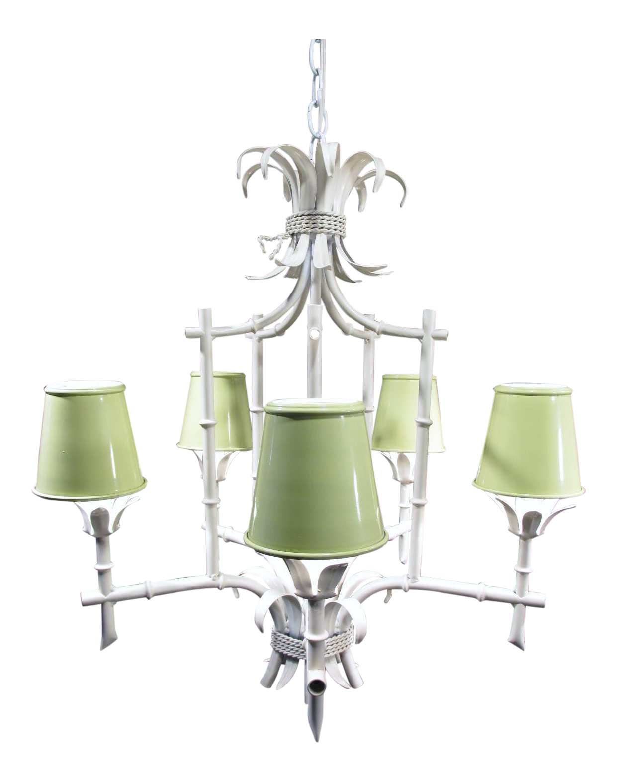 Italian faux bamboo pagoda chandelier faux bamboo chandeliers and italian faux bamboo pagoda chandelier arubaitofo Images