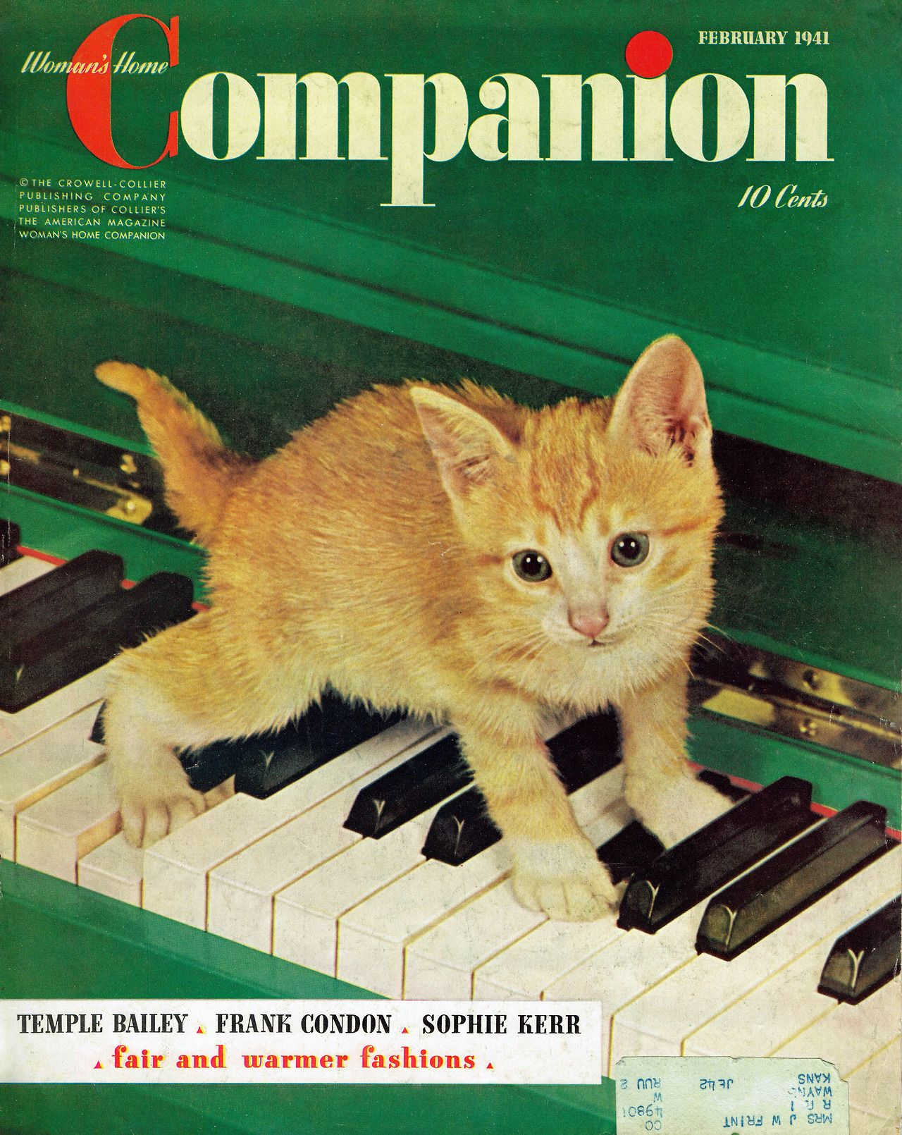 Remarkably Retro Photo Old Magazines Old Commercials Vintage Cat